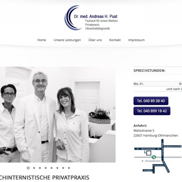 Dr.med.Andreas H.Pust, Facharzt für Innere Medizin